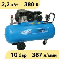 Масляный ременной компрессор ABAC B3800B/150 CT3