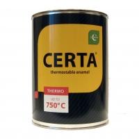 Эмаль (краска) термостойкая ЦЕРТА