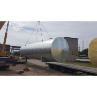 Резервуар горизонтальный стальной 100м3