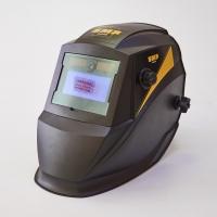 Маска сварщика хамелеон SMP GREAT-500L Черная матовая с фонарико