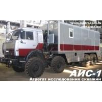Агрегат исследования скважин АИС-1м на шасси КАМАЗ-43118 АИС-1