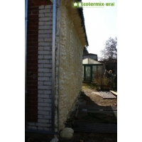 Напыляемый пенополиуретан ППУ Экотермикс - утепление домов, срубов, бань