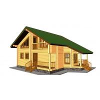 Дом из бруса «Иван»