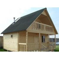 Недорогие деревянные дома  дома из бруса, дом-баня