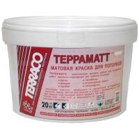Матовая краска для потолков Терраматт 20 кг