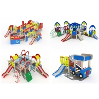Игровые комплексы для детских площадок
