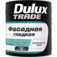 Краска Dulux TRADE Фасадная гладкая Ослепительно белая матовая Dulux