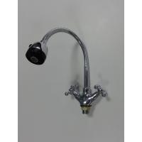 Смеситель  кухонный металлокерамика элостичный гусак SANAKS 095