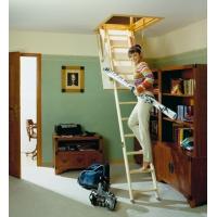 Деревянные и металлические складные чердачные лестницы