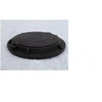 Канализационный (смотровой) люк полимерный, садовый черный