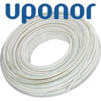 Гибкая предварительно изолированная полимерная труба  для систем теплоснабжения и горячего водоснабжения Упонор Quattr