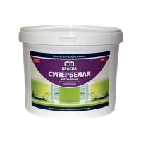 Краска AQUADECOR супербелая интерьерная ЭЛИТ (Акриловая), 14 кг