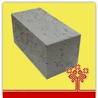 Блок керамзитобетонный полнотелый 390*190*188 мм.  КСР-ПР-ПС-39-100-F100-1500