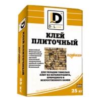 Клей для керамогранита, иск. и прир. камня De Luxe Клинкер 25кг