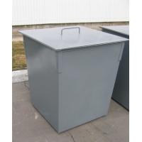 Контейнер ТБО, объем 0,75 куб. м. С крышкой