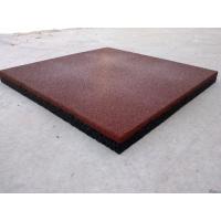 Резиновая тротуарная плитка 500*500*16