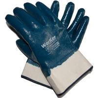 Перчатки-краги с полным нитриловым покрытием WorKer per3110