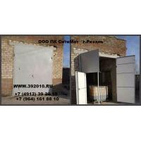Ворота гаражные с калиткой производство продажа  Артикул 10402
