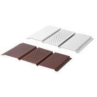 Софиты перорированные сплошные юпласт шоколад белый