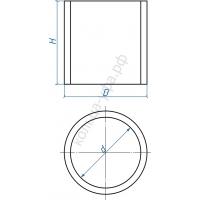 Кольцо железобетонное КС 7.6 с пазом