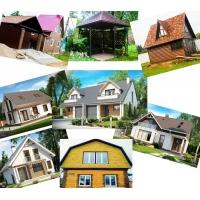 Строительство каркасных домов, строительные услуги.