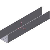 Профиль направляющий потолочный Металлкомлект ПН 28 * 27 (Ижевск)