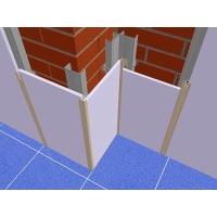 Алюминиевый Пи профиль для стеновых панелей  RAL  (9016/9006/1015)