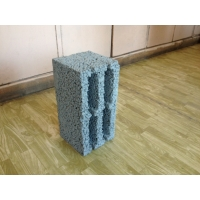 Керамзитобетонный блок 390х188х190 мм / 4 - щелевой  Стандарт