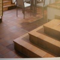 Плитка керамическая напольная Stroher (Ступени и плитка)