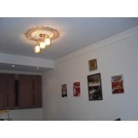 Белый матовый натяжной потолок Pongs 0400