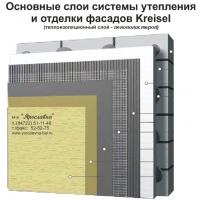 """Система теплоизоляции фасада """"мокрого"""" типа KREISEL применением пенополистирольных плит"""