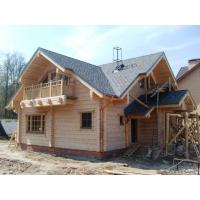 Деревянные срубы дома дачи бани