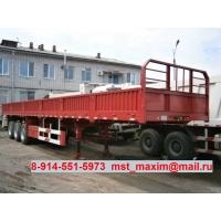 Полуприцеп бортовой 50 тонн cimc ZJV9381DY