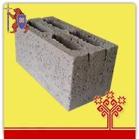 Блок керамзитобетонный 4-х щелевой 390*190*188  КСР-ПР-ПС-39-75-F100-1050