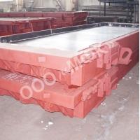 Металлоформы для дорожных, аэродромных плит