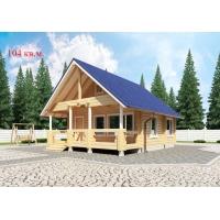 Деревянные дома из клееного бруса S= 104 кв.м. Евлашевский ДОК