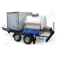 Торговый прицеп-гибрид комбинированный цистерна и фургон ТАНКО Гибрид