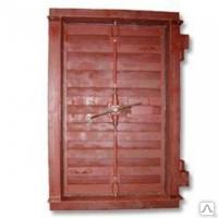 Двери герметичные, защитно-герм, ставни для бомбоубежищ  по серии 01.036-1