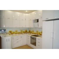 Стеклянный кухонный фартук с фотопечатью (скинали)  Фартук55