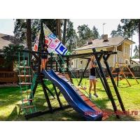 Детская игровая деревянная площадка, Фрегат