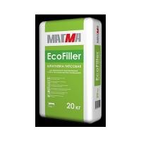 Гипсовая шпатлёвка 'EcoFiller' 20 кг