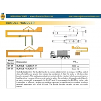 Приспособление для разгрузки упаковок каменных плит Abacomachines BUNDLE HANDLER BH-5T