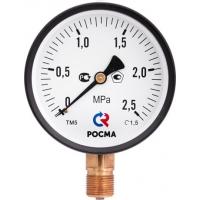 Манометр технический Росма ТМ110 (0 - 4, 6, 10, 16, 25 кгс/см2)