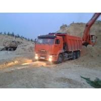 Песок строительный с доставкой от 2 м3