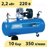 Коаксиальный масляный компрессор с чугунной головкой ABAC GV34/100 СM