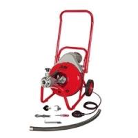 Электрическая прочистная машина  с автоподачей спирали DALI D-800
