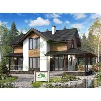 Каркасные дома Дачный Сезон проект Олинда
