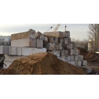 Блоки Фундаментные ФБС 24 БУ и новые, продажа, демонтаж