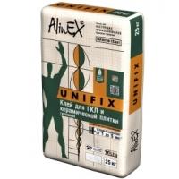 Клей для гипсокартона Unifix 25 кг AlinEX