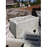 Блок керамзитовый стеновой 188х190х390